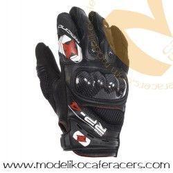 Guantes Racing Cortos de Rejilla Oxford RP-4 Color Negro
