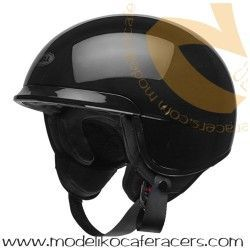 Casco Cafe Racer Retro BELL Scout Air Color Negro