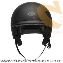 Casco Cafe Racer Retro BELL Scout Air Color Negro Mate