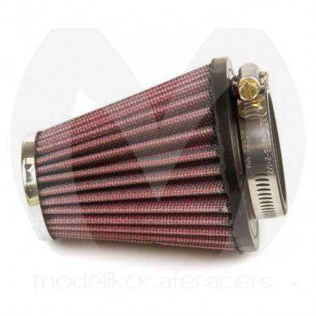 Filtro de Aire Rácing Cónico K&N, 48 mm