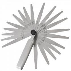 Calibre de espesor 0.05-1.00 mm 20 laminillas 100 mm