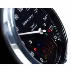 Odómetro MotoGadget Classic Black/Polish