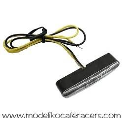 Juego Intermitentes Led Stripe Transparente Highsider