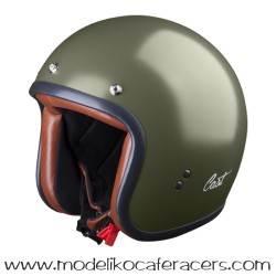 Casco CAST Jet Classic TR E05 - Verde Militar