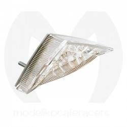 Piloto Trasero Mini Led Triangular, con luz Matricula