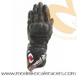 Guantes Racing de Cuero Oxford RP-1 Color Negro