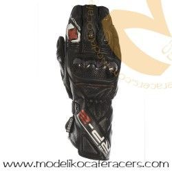 Guantes Racing de Cuero Oxford RP-2 Color Negro