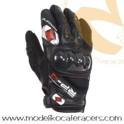 Guantes Racing Cortos de Rejilla Oxford RP-4 Color Negro