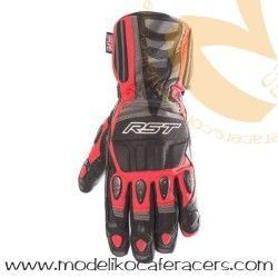 Guantes RST Storm Impermeable Color Rojo