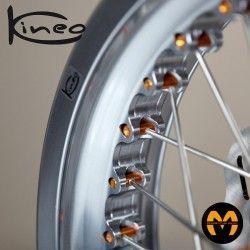 Kit Recambio Radios-Nipplos Anterior - 2 uds - KINEO Wheels