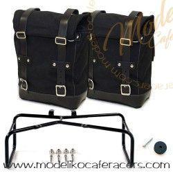 Bolsas Laterales con soporte Negro - Negro