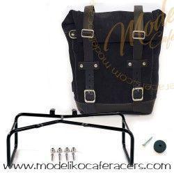 Bolsa Lateral Piel Marco Doble Ninet Color Jetblack - Unit