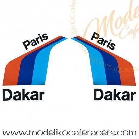 Kit de Pegatinas PARIS DAKAR deposito BMW RNineT