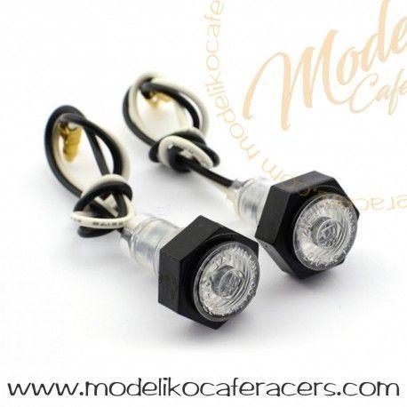 Micro Luces delanteras Posición Blanca LED
