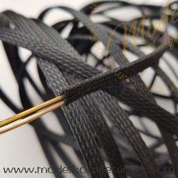 Funda Trenzada Plastico Expandible Negra - 6mm