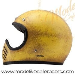 Casco DMD Carbon Kevlar Seventy-Five Arrrow Yellow