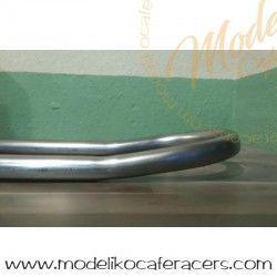 Curva Subchasis Inclinación tubo hierro 30x1.5 - Entre centros 230 mm