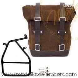 Bolsa Lateral en cuero con soporte - Un1tGarage