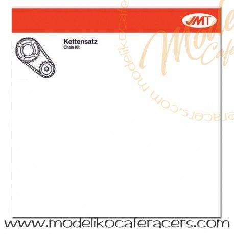 Kit de Arrastre JMT 520X2 Abierto Enganche Dorada - SR250