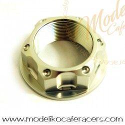 Tuerca Eje dirección Aluminio M24x1.0mm