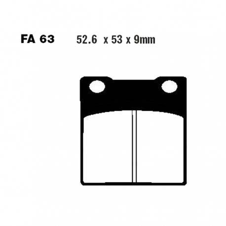 Pastillas Freno Trasero EBC FA63- Suzuki Clásicas