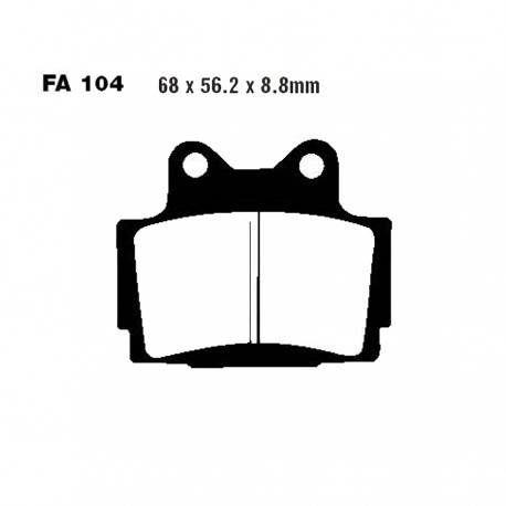 Pastillas de Freno Delantero Estandar EBC - Yamaha RD350