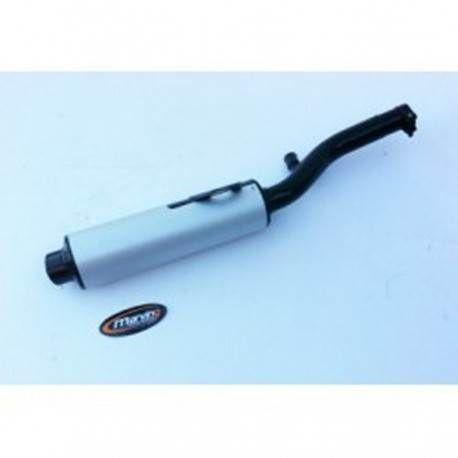 Cola Escape Negro-Aluminio Marving Suzuki GS500E
