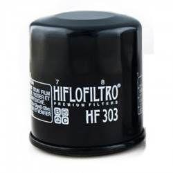 Filtro de Aceite Hiflofiltro HF303 Negro - Kawasaki VN750 Vulcan