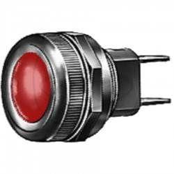 Luz de control conexión plano color Rojo