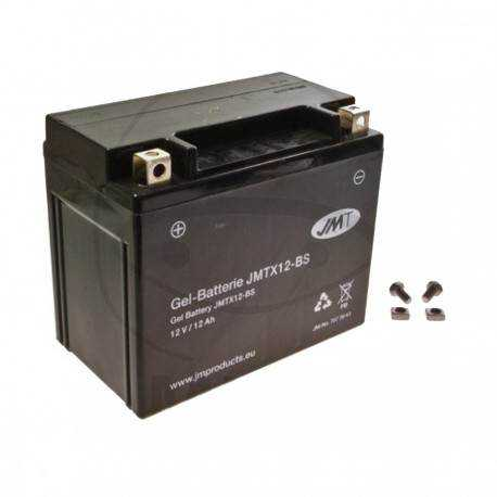 Bateria de Gel JMT Modelo YTX12-BS