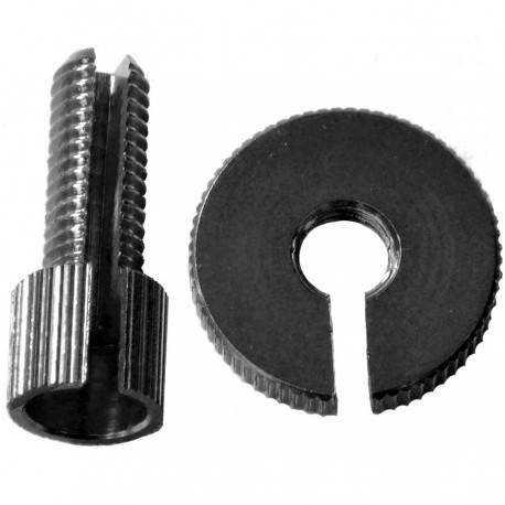 Tensor Cable Pro-Bolt M8 Aluminio Negro