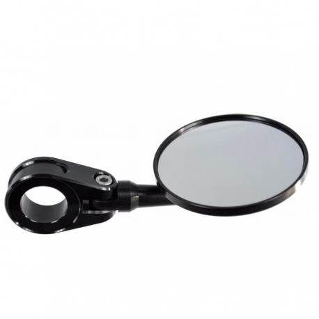 Espejo de puño para ambos lados cromado -Homologado-
