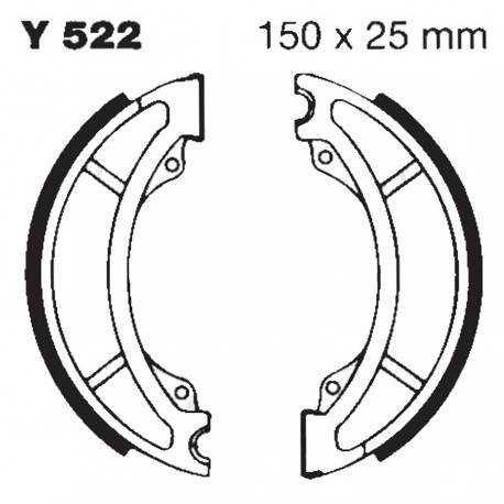 Zapatas de Freno Delantero Sin muelle EBC - Yamaha SR250