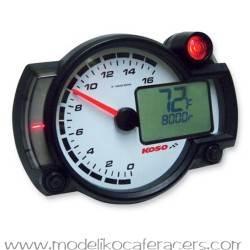 Marcador Universal KOSO RX2NR Máx. 16000 rpm