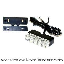 Luz matrícula de Leds PUIG - Modelo CIRCLE