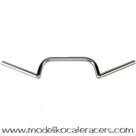 Manillar Fehling Clubman Cromado Type M de 22mm.