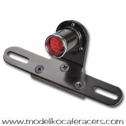 Piloto trasero Negro Shin-yo LED mini Old School Look