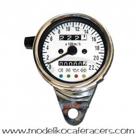 Velocímetro Electrónico Acero 60 mm M12x1.00mm