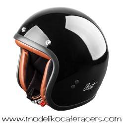 Casco CAST Jet Classic TR E05 - Negro Brillo