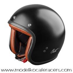 Casco CAST Jet Classic TR E05 - Negro Mate