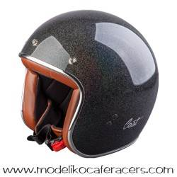 Casco CAST Jet Classic TR E05 - Grey Glitter