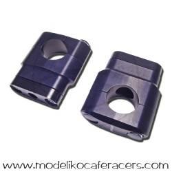 Torretas Negras 28 mm - Elevacion 40 mm