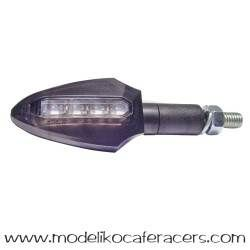 Juego Intermitentes LED JMT DART Cristal Blanco
