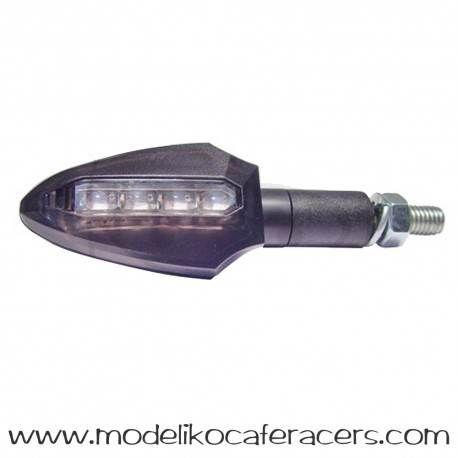 Juego Intermitentes LED JMT DART Cristal Blanco