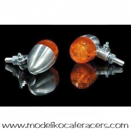 Intermitentes Aluminio BULLET 1 - Unidad -