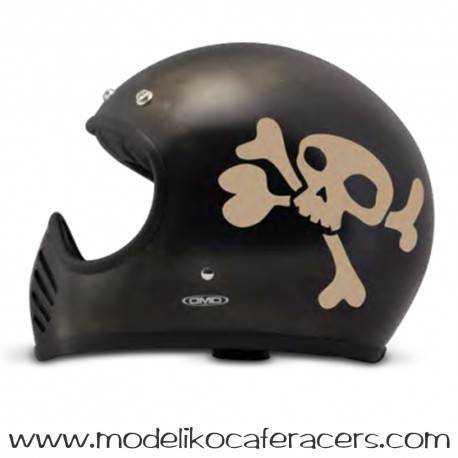 Casco DMD Modelo Seventy Five LITTLE SKULL