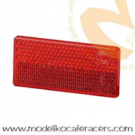 Catadioptrico Básico Homologado Rojo
