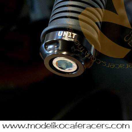 Contrapesos manillar negro anodizado - BMW RnineT