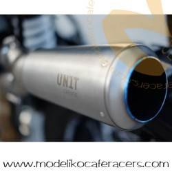 Cola de escape en alto inox -BMW RnineT