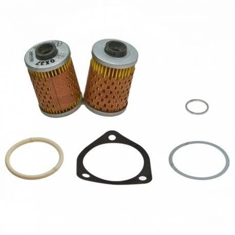 Filtro de Aceite Mahle con Junta, modelo sin radiador de aceite, 2 piezas